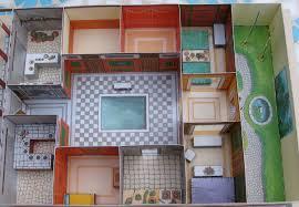 Ancient Roman House Floor Plan by Lutz U0027s Web Site Paper Model Roman Country House