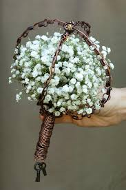 theme wedding bouquets steunk bouquet diy steps fiftyflowers the