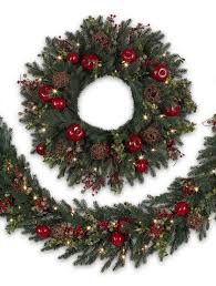 norway spruce decorated wreath from balsam hill