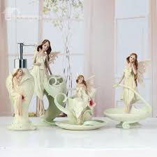Bathroom Ensembles High Quality Angel Style European Creative Bathroom Accessories