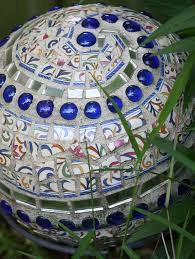 bowling ball mosaic garden art ideas 17 diy for life