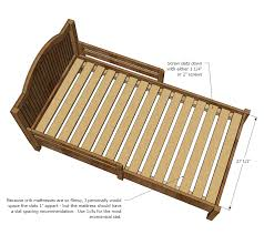 Pottery Barn Catalina Twin Bed Ana White Traditional Wood Toddler Bed Diy Projects
