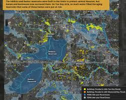 houston map flood where houston floods outside the flood zones swlot