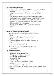 Responsibilities Of A Babysitter For Resume Internship Report Ntpc