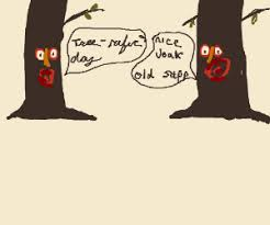 tree puns in the forest