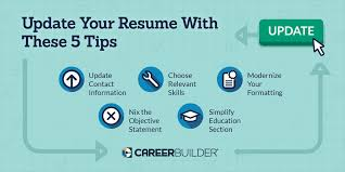 Career Builder Resume Update These 5 Items On Your Resume Careerbuilder