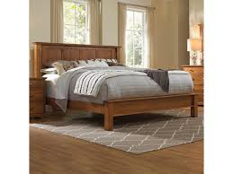 daniel u0027s amish elegance solid wood king bed with low footboard