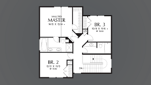 mascord house plan 22192 the roundhay