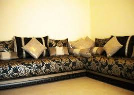 tissu pour canapé marocain tissu pour salon marocain moderne atlist co