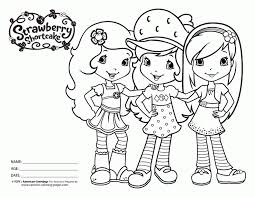 coloring pages ccp allimages strawberry shortcake 618207