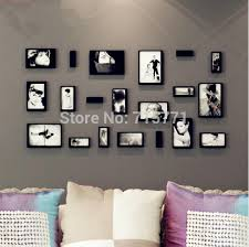 Home Decor Photo Frames 10 Pcs Set New 3d Wooden Photo Frame Home Decoration Removable