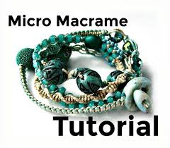 macrame bracelet with beads images Micro macrame tutorial wrap bracelet pattern beaded etsy jpg