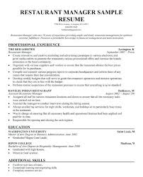 sample fast food resume create my resume fast food assistant