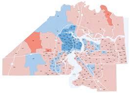 Jacksonville Map Jacksonville Com Jacksonville Mayor Precinct Map Florida Times