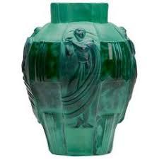 Vase Deco 1930s Art Deco Ingrid Glass Vase By Curt Schlevogt For Sale At 1stdibs