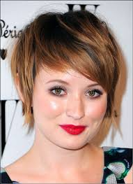 high cheekbones short hair 60 short hairstyles for fat faces double chins fashiondioxide