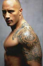 the rock shoulder and arm tattoos tattoo from itattooz