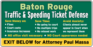Traffic Light Ticket Baton Rouge Louisiana Red Light Traffic Ticket Lawyer Attorney