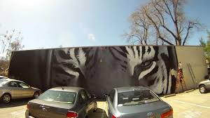 el tigre 85 foot mural painting time lapse youtube