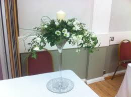 Martini Glass Vase Flower Arrangement Wedding Martini Glasses Local Classifieds Buy And Sell In The