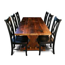 Barn Wood Dining Room Table by Handcrafted Rustic Cypress Tables All Wood Furniture Company