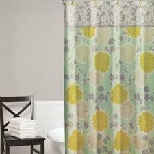 cheap blue and gray shower curtain find blue and gray shower