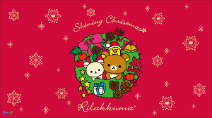 new 2015 rilakkuma christmas wallpaper photography u003c3