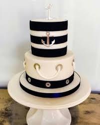 nautical buttercream birthday cake pinteres