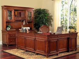 Wood Office Desks Home Office Furniture Solid Wood Fabulous All Wood Computer Desk