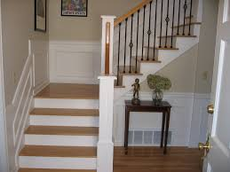 Staircase Spindles Ideas Stair Interesting Home Interior Decoration With White Marble
