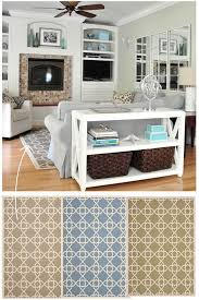 Rugs In The Casa Centsational Style - Family room rug