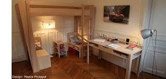 chambre enfant bois massif mobilier enfant et bébé en bois massif par zinezoé