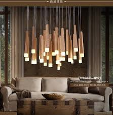 country style pendant lights american country style pendant lights wood pendant ls led warm