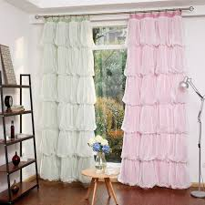 vorhänge schlafzimmer sunnyrain 1 teilig multilayer prinzessin design vorhang für