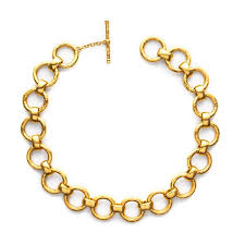 gold link necklace images Lafayette gold chain link necklace julie vos jpg