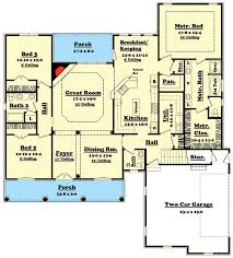 what is a split floor plan split bedroom home plan with options 11711hz architectural