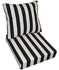 amazon com indoor outdoor deep seating chair cushion set