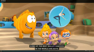 bubble guppies bring ballet for all