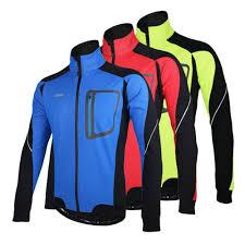 best winter cycling jacket 2016 arsuxeo winter windproof jersey mtb mountain bike jacket warm