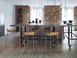 cuisine avec brique cuisine et mur de briques encore par décoration