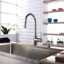 Kraus Kitchen Faucets Kraus Khf20033kpf1622ksd30ch 33 Inch Farmhouse Single Bowl