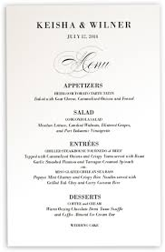Wedding Invitations With Menu Cards Poem Script Monogram Wedding Menu Card Documents And Designs