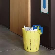 poubelle de bureau tri selectif poubelle de bureau sl17 jaune corbeille à papier konstantin