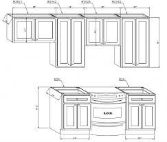 Kitchen Cabinet Door Dimensions by Kitchen Cabinet Diagram Monsterlune