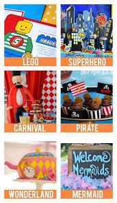 birthday themes birthday party themes