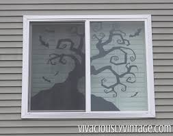 ansley designs diy creepy halloween silhouettes with templates
