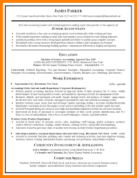 cpa resume 11 accounting sle resumes self introduce
