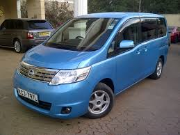 nissan serena nairobimail nissan serena 2009 fully loaded 2000cc sky blue