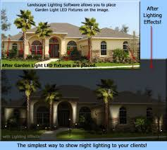 Where To Place Landscape Lighting Garden Light Led Partners With Landscape Lighting Software For