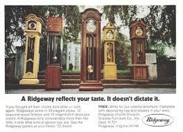 Ridgeway Grandmother Clock Ridgeway Clocks Advertisement Gallery